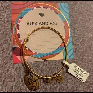 Alex and ani key to life bracelet
